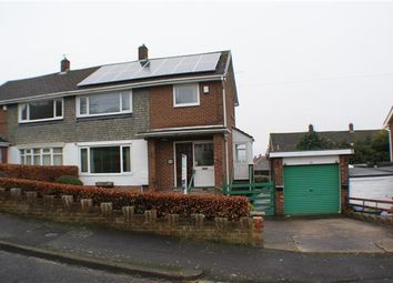 Thumbnail 3 bed semi-detached house for sale in Essex Avenue, Consett