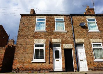 Thumbnail 2 bedroom end terrace house for sale in Ash Street, York