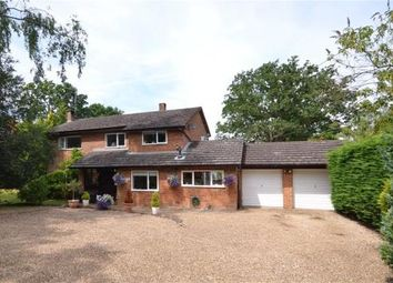 Thumbnail 4 bed detached house for sale in Eversley Centre, Hook, Hampshire