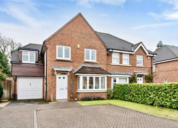 Thumbnail 4 bed semi-detached house for sale in Kenilworth Place, Billingshurst, West Sussex