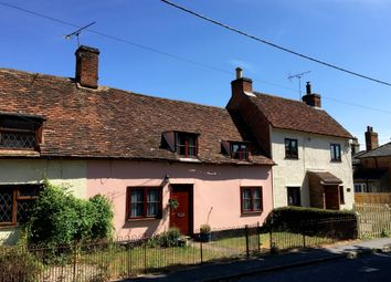 Thumbnail 2 bed cottage for sale in Gaston Street, East Bergholt, Colchester