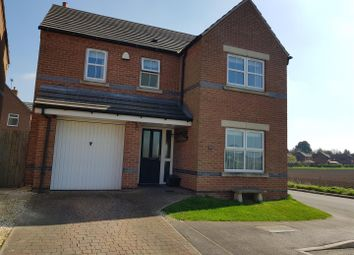 Thumbnail 4 bed detached house for sale in Occupation Lane, Edwinstowe, Mansfield