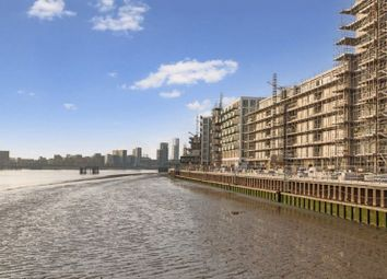 Thumbnail 1 bed flat for sale in Barrier House, Royal Wharf, Royal Docks, London