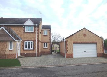 Thumbnail 3 bed semi-detached house for sale in Brooksfield, South Kirkby, Pontefract, West Yorkshire