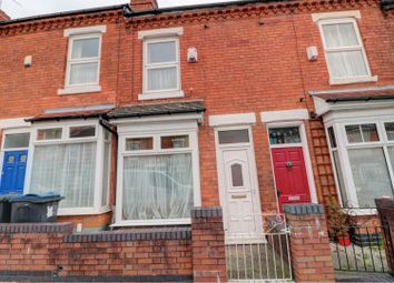 Thumbnail 2 bed terraced house for sale in Wallace Road, Birmingham