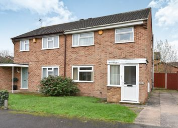 Thumbnail 3 bed semi-detached house for sale in Jarvis Road, Stenson Fields, Derby