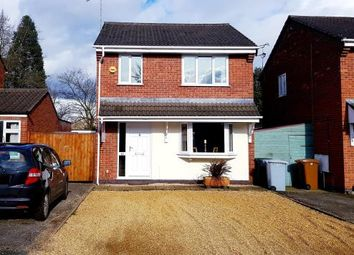 Thumbnail 3 bed detached house for sale in Bickley Close, Hough, Crewe, Cheshire