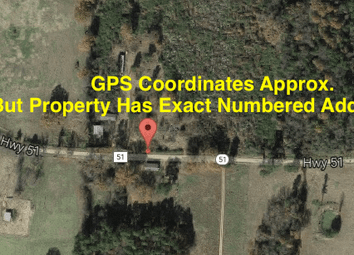 Thumbnail 3 bedroom detached house for sale in Https://Cheaplands.Com/Property/Rural-Property-1-Acre-Pro/, 357 Nevada 51 (Aka 357 Co Rd 51), Prescott, Ar 71857, United States