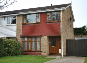Thumbnail 3 bed semi-detached house for sale in Bushy Grove, Kingswood, Maidstone