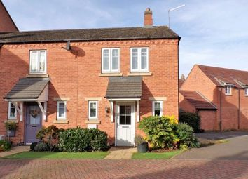 Thumbnail 3 bed end terrace house for sale in Dairy Way, Kibworth Harcourt, Leicestershire