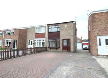 Thumbnail 2 bed semi-detached house to rent in Truro Close, Sutton-On-Hull, Hull
