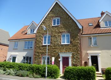 Thumbnail 4 bed town house to rent in Deas Road, South Wootton, King's Lynn