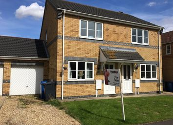 Thumbnail 2 bed semi-detached house for sale in Lady Meers Road, Cherry Willingham, Lincoln