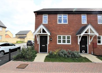 Thumbnail 2 bed terraced house for sale in Cornflower Way, Bicester