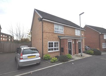 Thumbnail 2 bed semi-detached house for sale in Junction Crescent, Newcastle, Staffs