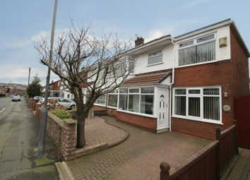 Thumbnail 4 bed semi-detached house for sale in Stoney Lane, Prescot, Merseyside