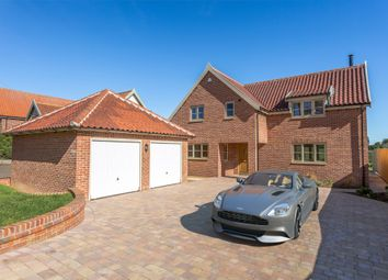 Thumbnail 4 bed detached house for sale in Norwich Road, Saxlingham Nethergate, Norwich