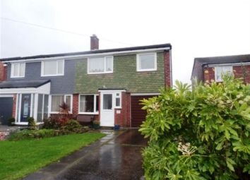Thumbnail 3 bedroom semi-detached house to rent in Penrhyn Crescent, Hazel Grove, Stockport