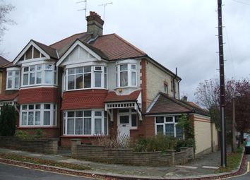 Thumbnail 3 bed semi-detached house to rent in Hillcrest, London