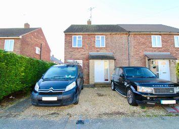 Thumbnail 3 bed semi-detached house for sale in Derwent Drive, Gunthorpe, Peterborough