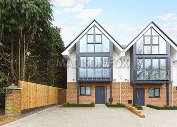 Thumbnail 4 bedroom end terrace house to rent in Hainault Road, Chigwell