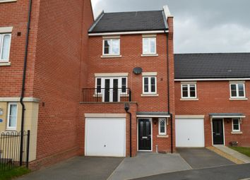 Thumbnail 4 bed town house for sale in Meridian Rise, Ipswich