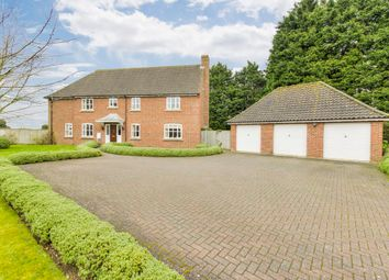 Thumbnail 5 bedroom detached house for sale in The Street, Coney Weston, Bury St. Edmunds