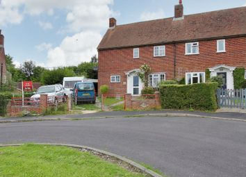 Thumbnail 3 bed semi-detached house for sale in Stevens Green, St. Mary Bourne, Andover