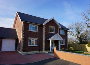 Thumbnail 4 bed detached house for sale in Clos Treventy, Cefneithin, Llanelli