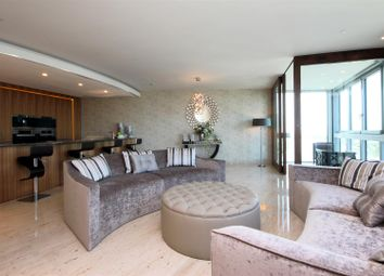 Thumbnail 2 bed flat to rent in The Tower, One St George Wharf, Nine Elms, London