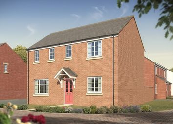 "Thumbnail 3 bed detached house for sale in ""The Clayton"" at Hardys Road, Bathpool, Taunton"