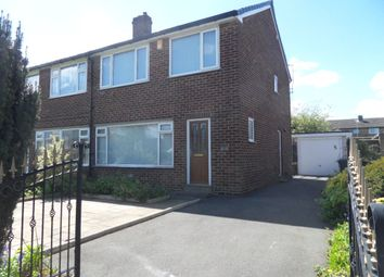 Thumbnail 3 bed semi-detached house for sale in White Lee Road, Batley, West Yorkshire