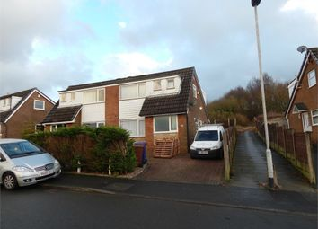 Thumbnail 3 bed semi-detached house to rent in Lower Mead Drive, Burnley