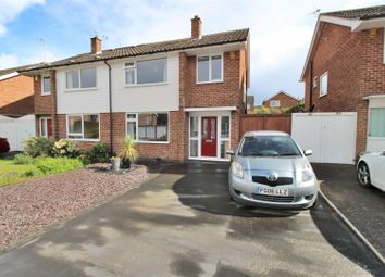 Thumbnail 3 bed semi-detached house for sale in Holkham Avenue, Chilwell, Nottingham