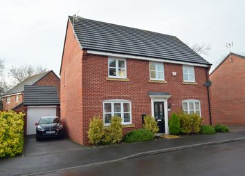 Thumbnail 4 bed detached house for sale in Teeswater Close, Long Lawford, Rugby