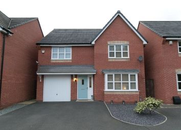 Thumbnail 4 bed detached house for sale in Highfield Court, Wrexham