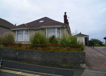 Thumbnail 3 bedroom detached bungalow for sale in Goetre Fach Road, Killay, Swansea