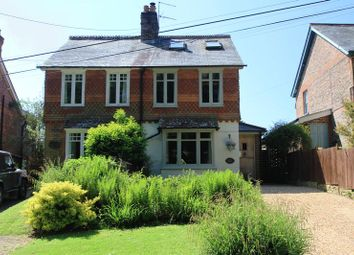 Thumbnail 3 bed semi-detached house for sale in Hermongers Lane, Rudgwick, Horsham