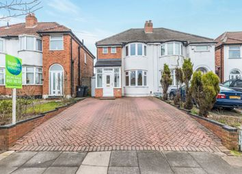 Thumbnail 3 bedroom semi-detached house for sale in Parkdale Road, Sheldon, Birmingham
