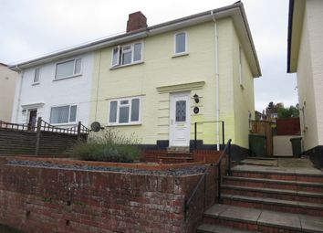 Thumbnail 3 bed semi-detached house for sale in Parkway, Exeter