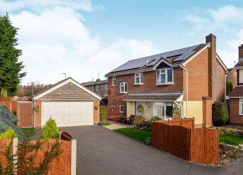Thumbnail 4 bed detached house for sale in Sycamore Close, Melton Mowbray