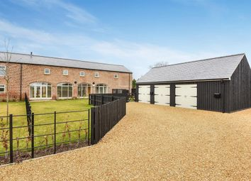 Thumbnail 5 bedroom barn conversion for sale in Carr Lane, Sutton-On-The-Forest, York