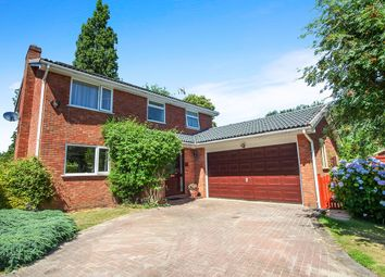 Thumbnail 4 bed detached house for sale in Lindisfarne Close, Middlewich