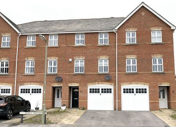 Thumbnail 3 bed town house for sale in Jessica Crescent, Totton, Southampton