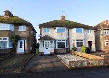 Thumbnail 3 bed semi-detached house to rent in Gloucester Road, Wolverton, Milton Keynes