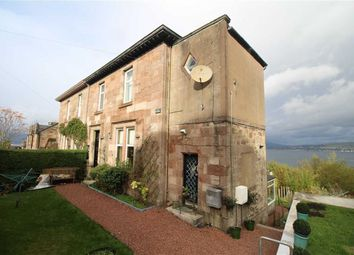 Thumbnail 4 bed flat for sale in Victoria Road, Gourock