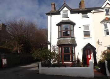 Thumbnail 4 bedroom end terrace house for sale in Glasfor Terrace, Criccieth, Gwynedd