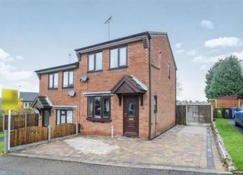 Thumbnail 2 bed property to rent in Heathbank Drive, Cannock