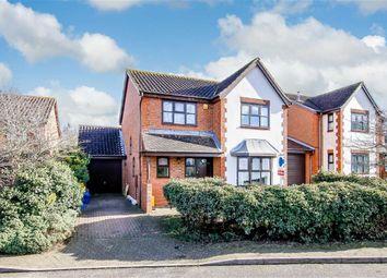 Thumbnail 4 bed detached house for sale in Blakeney Court, Tattenhoe, Milton Keynes, Bucks