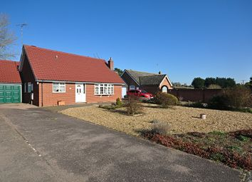 Thumbnail 3 bed detached bungalow for sale in Robinson Road, Scole, Diss